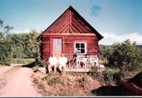 Shack living in Clark, CO