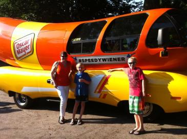 The Wienermobile!