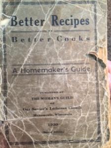 My Mom's old cookbook