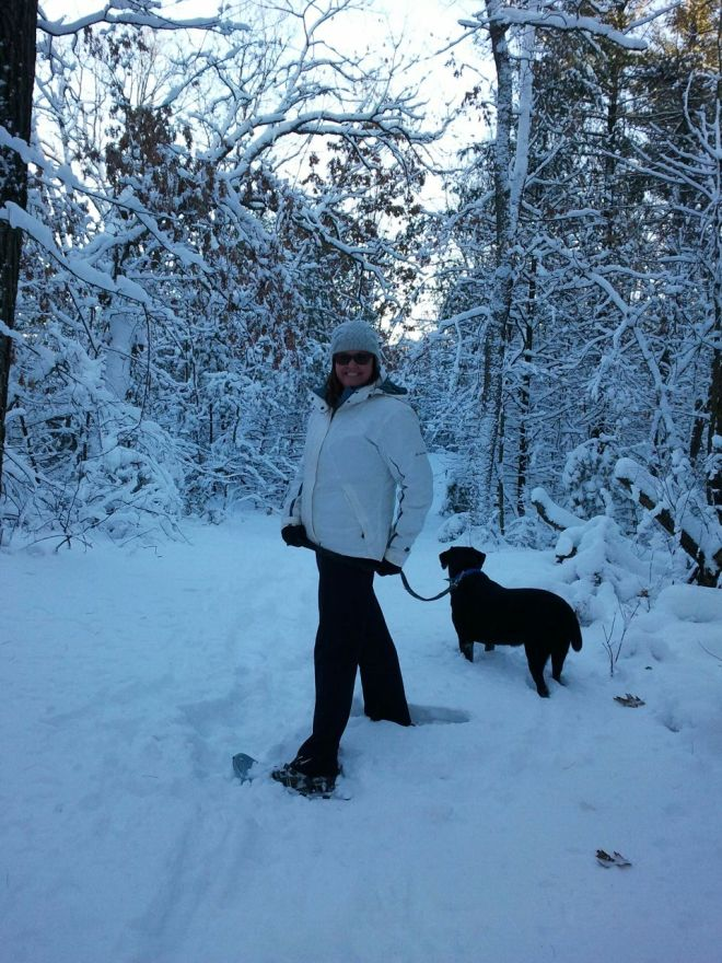 snowshoeing 2013